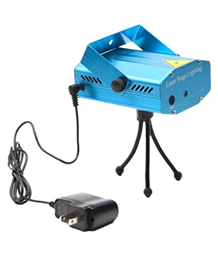 12 in 1 Multi Pattern Laser Mini Disco Light Projector Stage Lighting for Party & Diwali