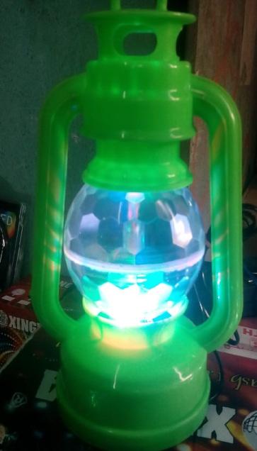 Tulsi led lantern with rotating  lamp