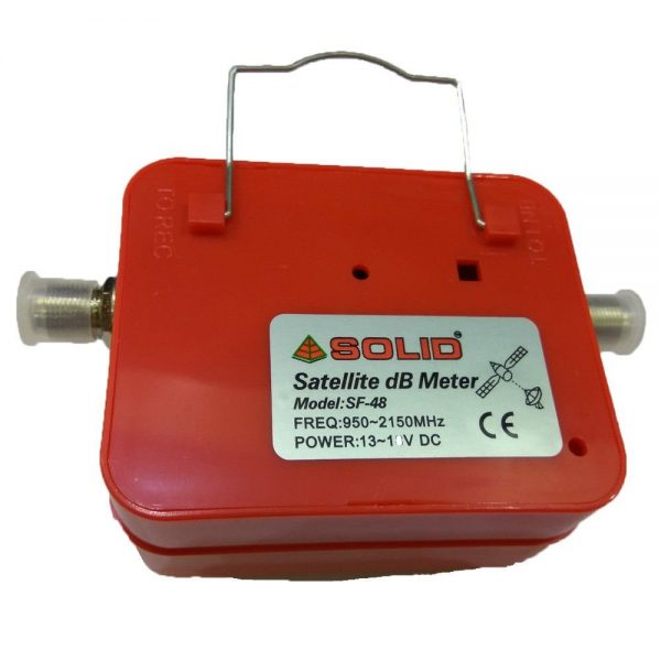 Solid  Satellite Signal Finder Db Meter For Full,Hd Dish T.V Network