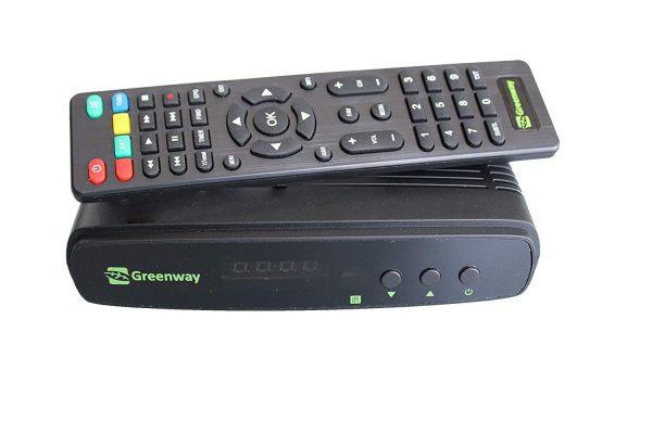 Greenway HD Set Top Box (Black)