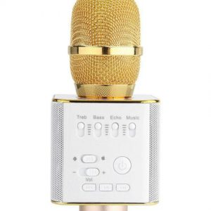 Q9 Wireless Microphone With Bluetooth Speaker For All IOS/Android Smartphones