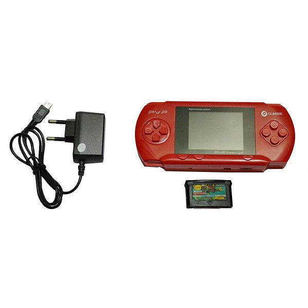 I NEXT Classic Digital Pocket System PVP Station Light 3000 Handheld Gaming Console with 2 Cassettes